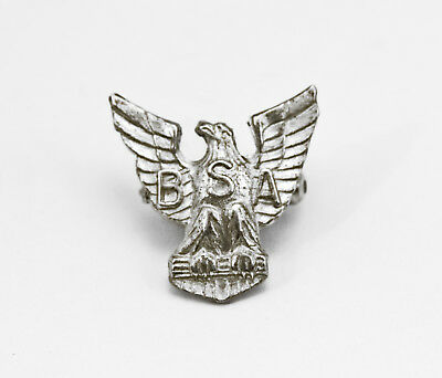 Vintage BSA Eagle Scout Rank Pin Sterling Silver Stange Boy Scouts of America