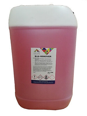 Azure Bug Remover Glass Trim Paintwork Bugs Tar Bird Lime Concentrated - 25L