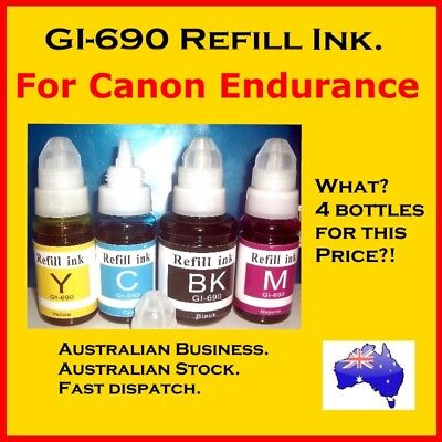GI-690 compatible ink, for Canon Endurance G series printers