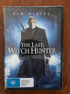 The Last Witch Hunter DVD New & Sealed Region 4 Vin Diesell