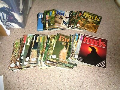 set of 90 magazines RSPB the encyclopedia of birds 1 - 53 55 - 91  from 1978