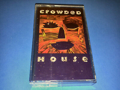 CROWDED HOUSE - WOODFACE - cassette (1991, EMI CANADA) C4 93559 XDR Audiophile