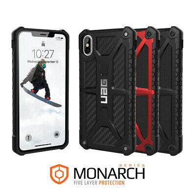 Urban Armor Gear (UAG) iPhone XS MAX Monarch Military Spec Case - Rugged Cover