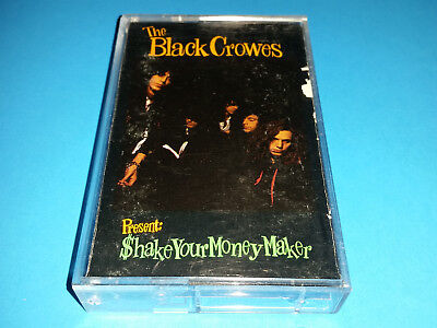 THE BLACK CROWES - $hake Your Moneymaker - cassette (1990, WEA CANADA) 92 42784