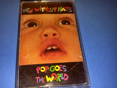 MEN WITHOUT HATS - POP GOES THE WORLD - cassette (1987, POLYGRAM CANADA)