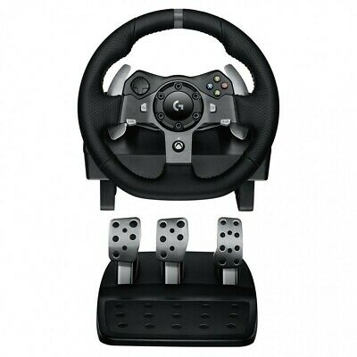 Logitech G920 Driving Force Racing Wheel for XBOX PC Dual-Motor Force  941-00012