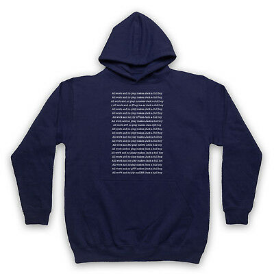 The Shining Unofficial All Work No Play Jack A Dull Boy Adults & Kids Hoodie