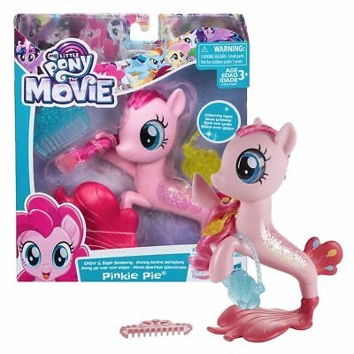 New My Little Pony The Movie Pinkie Pie Glitter & Style Seapony MLP Official