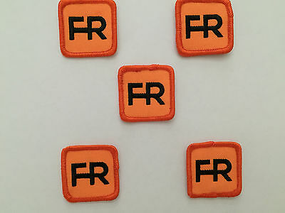 """Qty. 5 fr patches - 1 1/2"""" Square.  Iron on or sew On."""