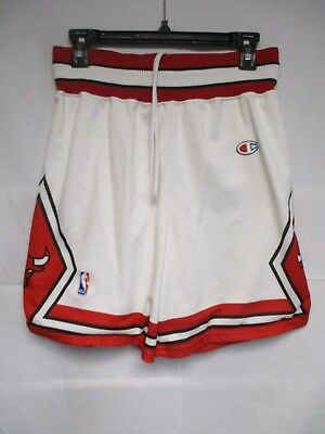 Short basket CHICAGO BULLS NBA CHAMPION USA blanc collection M