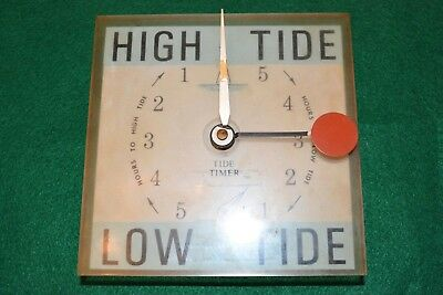 Original Schelling Wall Tide Clock, Circa 1971