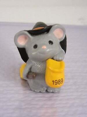 Hallmark HALLOWEEN Merry Miniature (1989) - Mini Mouse Witch with Broom