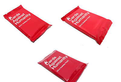 Cards Against Humanity 2012 2013 2014 Holiday Packs