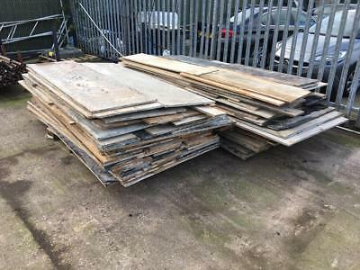 Used Plywood Sheets x 18mm thick