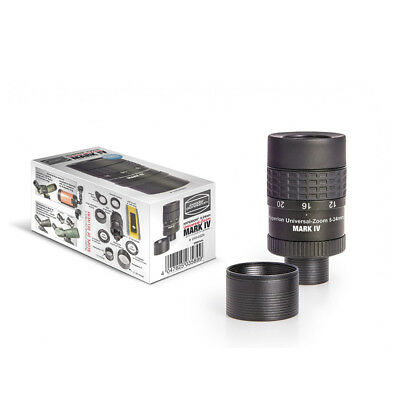 """Baader Hyperion Universal Mark-IV 8mm-24mm Zoom 1.25"""" & 2"""" Eyepiece 2454826"""