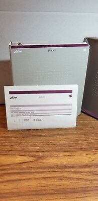 NOS Apple LisaList Software and Manual
