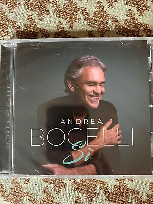 Brand New Factory Sealed Andrea Bocelli Si Cd  - Free Shipping