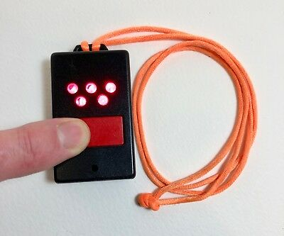 Red LED darkroom inspection torch