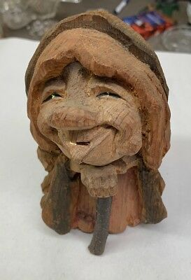 Norway Hand Carved Wooden Troll Otto Sveen