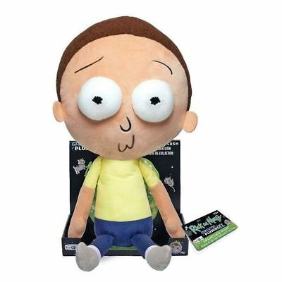 "New Rick And Morty 16"" Morty Small Mouth Galactic Plushie Plush Funko Official"