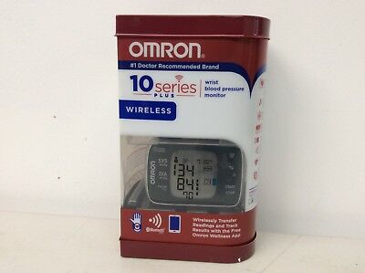 Omron BP653 10 Series Plus Wrist Blood Pressure Monitor Wireless Bluetooth
