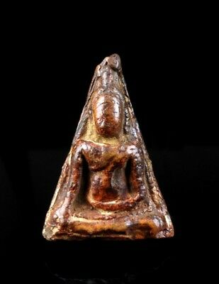 thai buddha amulet old PHRA SOMDEJ NANGPHAYA Buddhist art gorgeous antique