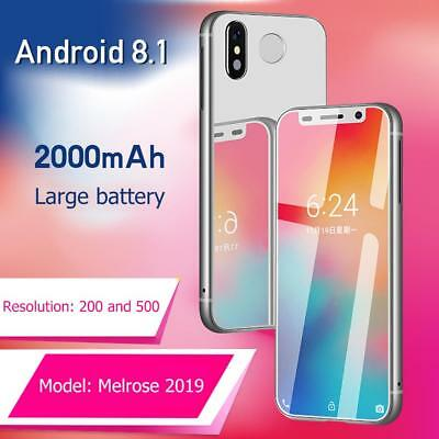 Melrose 2019 Android 8.1 3.4inch 1+8GB GPS 4G Smart Phone Dual Card Standby