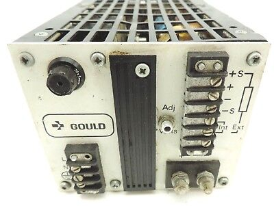 Gould MG520A/n ADVANCE MG5-20 A/n POWER SUPPLY IN 115/120 VAC OUT: 5V 20A Tested