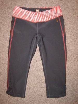 c225eee0bb744 LUCY YOGA CAPRI Crop Athletic Pants Womens Size Small Nylon Spandex ...