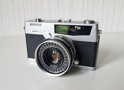 Vintage 1960'S Petri 7 S Camera Made In Japan