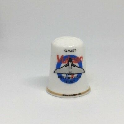 Collectable Thimble - GVJET VULCAN  (AA76)
