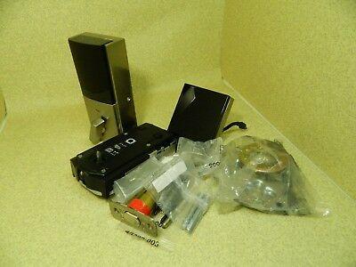 Kwikset Obsidian Keyless Touchscreen Electronic Deadbolt  Satin Nickel For Parts