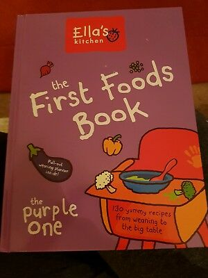 Ellas Kitchen the First Foods Book (the Purple one)