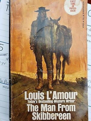 Louis L Armour The Man From skibbereen 1973 1st time in paperback