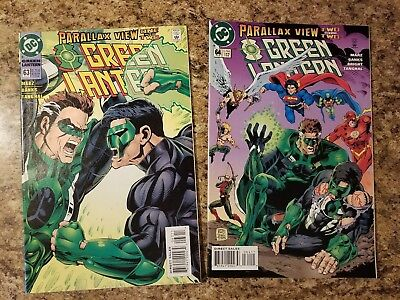 Green Lantern Comic Lot #63 and #64 (1995, DC) Great condition!