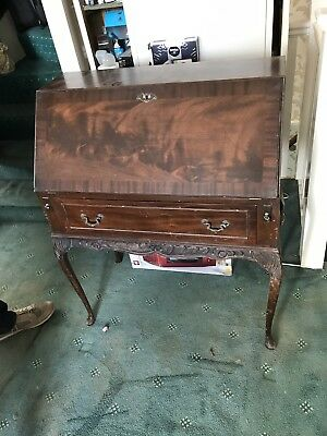 Antique vintage writing bureau desk
