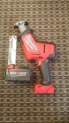 Milwaukee 2719-20 M18 FUEL 18-V HACKZALL Brushless Cordless Saw 1(5.0 battery)