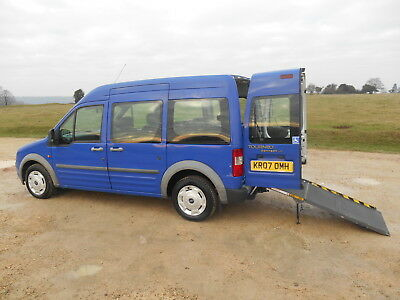 2007  Ford Tourneo Connect T230 Lx 5 Seat Wheelchair Accessible Disabled Car