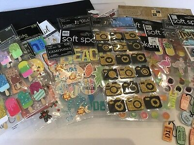 Scrapbook Supplies Lot