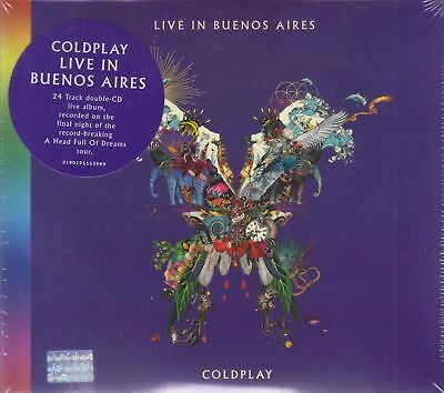 Coldplay NEW Live in Buenos Aires 24 Track 2 CD's SHIPPING NOW !