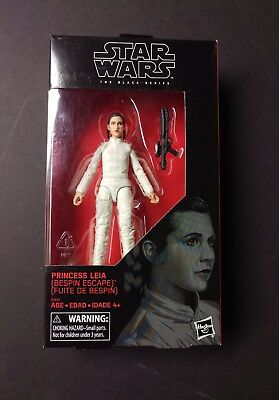 """Star Wars The Black Series 6"""" Princess Leia Bespin Escape Target Exclusive MOC"""