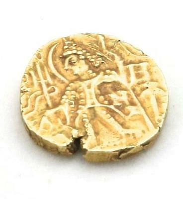 Ancient Gold Coin Starter Kushan Empire 4th Century AD India Dinar