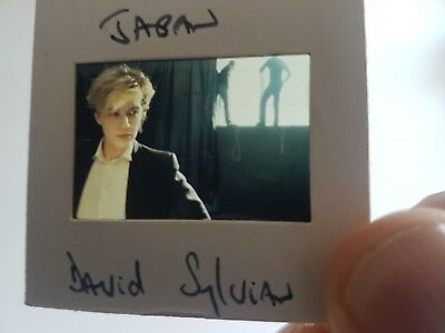 Japan David Sylvian promo photo slide Art Rock, New Romantic