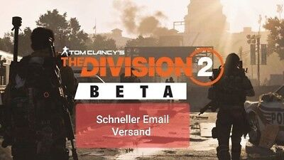 The Division 2 BETA  PS4, Xbox One, PC
