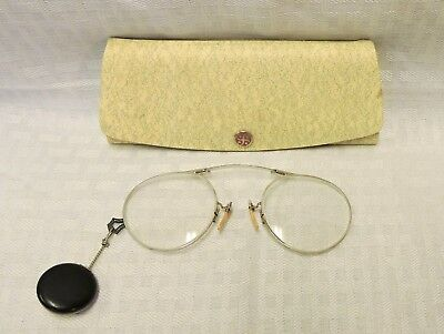 Vintage Pair of Eye Glass Spectacle And Case