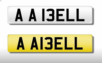 Cherished Number Plate AA I3 ELL