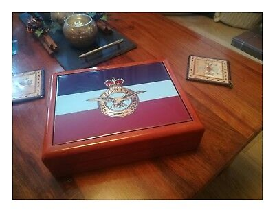 Royal Air Force - RAF premium military medals and memorabelia box