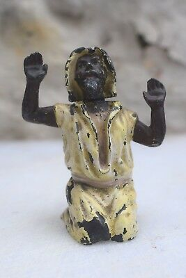 HEYDE vintage cold painted hollow cast lead figure of an Arab figure