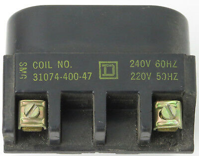 Square D 31074-400-47 Magnetic Coil for Size 3 Contactor 220/240V 50/60Hz