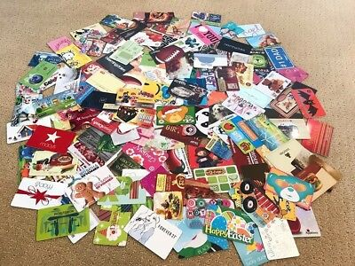 Collectible Gift Card - LOT of 160 Cards -  All New